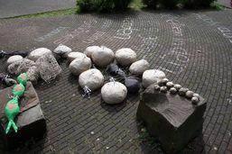 Auch aus Steinen …