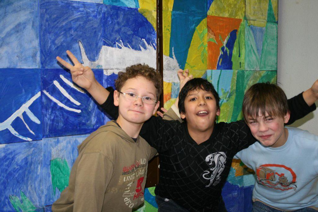 Kinder der Gesamtschule