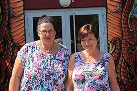 Sekretärinnen an der KKS Recklinghausen
